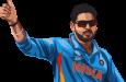 Pemain kriket India Virat Kohli.